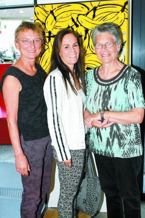 Gut gelauntes Damen-Trio: Marita Sperlich, Beate Fischer und Herta Hassel (v.l.). Fotos: Franc