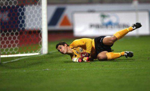 Gute Neuigkeiten: Martin Kobras trainiert nach seiner Verletzung wieder mit der Mannschaft. Foto: gepa