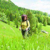 Kräuterwanderung mit Sigrid Thaler Rizzolli