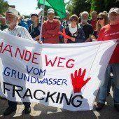 Proteststurm gegen das deutsche Frackinggesetz