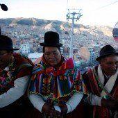 Verkehrsmittel der Zukunft in La Paz