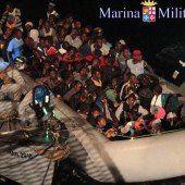 Italien rettet mehr als 1500 Bootsflüchtlinge
