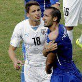 Luis Suárez droht eine lange Sperre