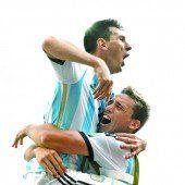 Argentinien feiert Messi