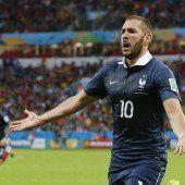 Benzema-Festspiele bei 3:0-Erfolg von Frankreich