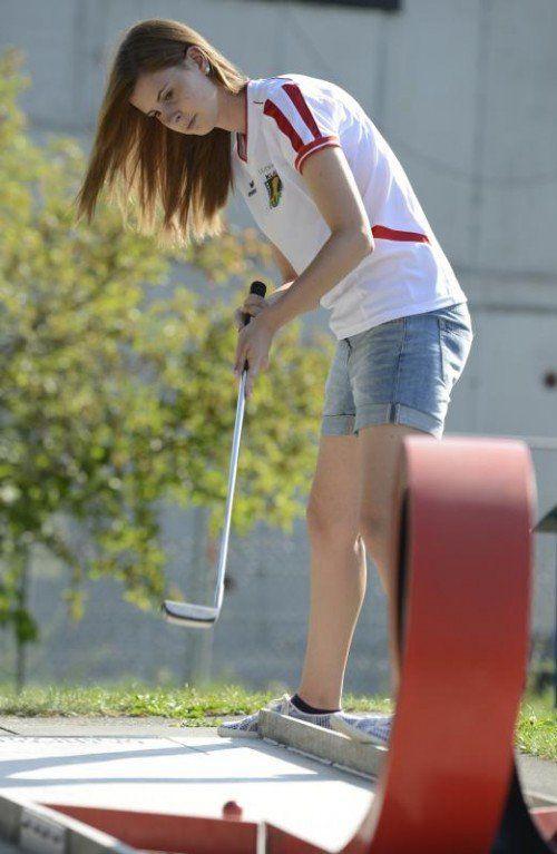 Lara Jehle ist beim Bundesländercup im Einsatz. Foto: vn/DS