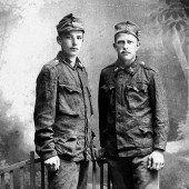 Mit 17 und 19 in den Krieg eingerückt