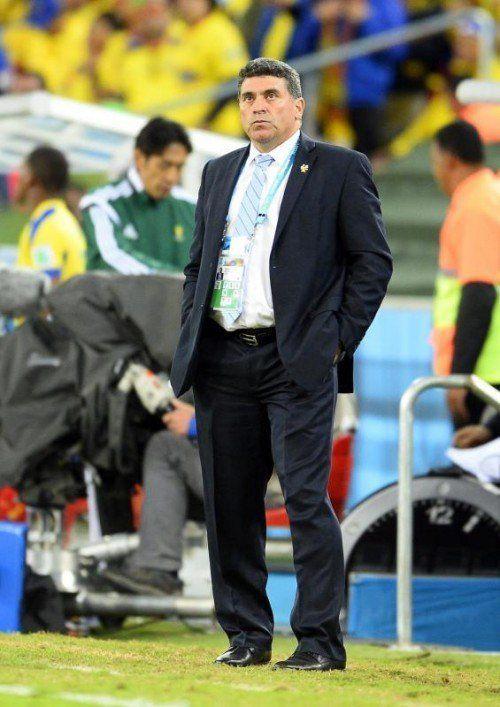 Luis Fernando Suarez hört als Honduras-Coach auf. Foto: epa