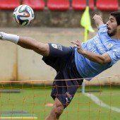 England zittert vor Suárez