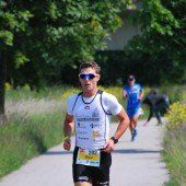 Mario Erath in Pescara auf dem Siegerpodest