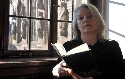 Es ist interessant, wie Streeruwitz in ihrer Rolle als Jungautorin ihre Wut auf die Buchbranche weitet. Foto: EPA