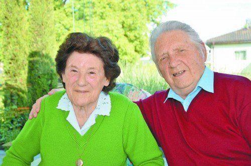 Mehr als 60 Jahre in Gemeinsamkeit. Fotos: privat
