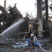 Tote bei Brand in Ölraffinerie