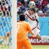 Costa Rica avanciert zur Sensation