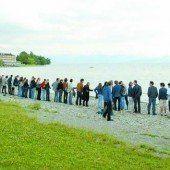 Braucht es eine Menschenkette um den Bodensee?