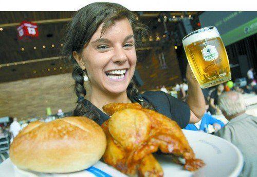 Nach acht Jahren serviert die Greber-Gastronomie auf der Herbstmesse zum letzten Mal das Messe-Hennele.