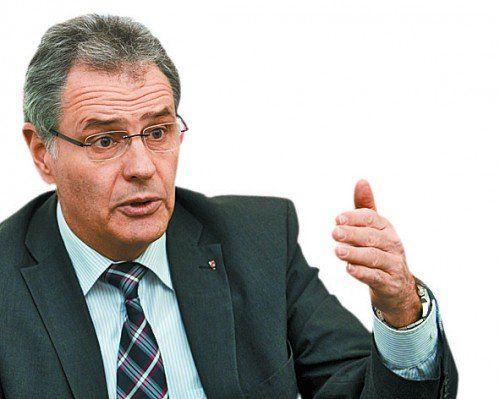 Nationalrat müsste Macht abgeben, bestätigt Edgar Mayer. Foto: VN/Steurer