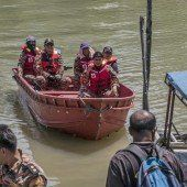 Boot mit Migranten vor Malaysia gesunken