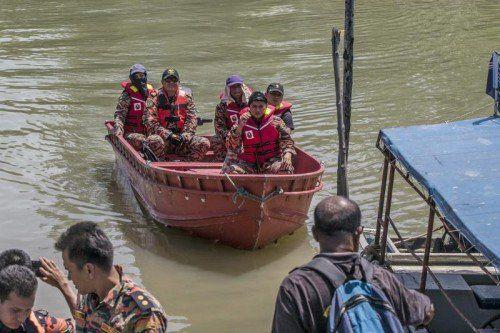 Neun Menschen starben bei dem Unglück. Nach 26 vermissten Menschen wird noch gesucht. Foto: EPA