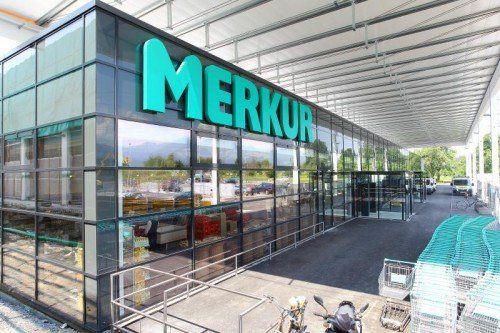 """Öffnet am kommenden Mittwoch, 2. Juli, seine Pforten: der """"generalmodernisierte"""" Merkur-Markt in Rankweil.  Foto: VN/HB"""