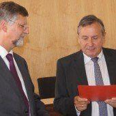 Ernennungsdekret für Richter Othmar Kraft