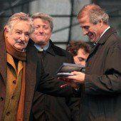 Uruguays Präsident wütete