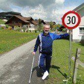Sulzberg hat nun die erste Tempo-30-Zone
