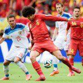 Belgiens Jungstars gegen US-Boys