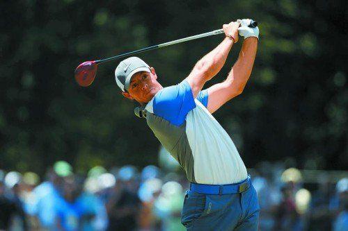 Rory McIlroy: Olympische Golf-Ehren für Irland. Foto: ap
