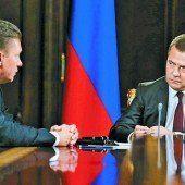 Kein Gas mehr für Kiew