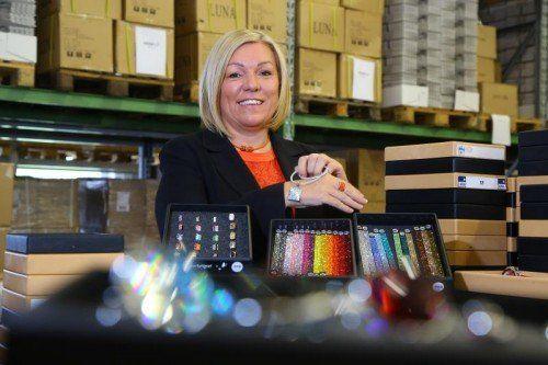 Sabine Berlingers Unternehmen Luna wächst jährlich zweistellig. Nun will sie Pierre Lang wieder rentabel machen. VN/HB