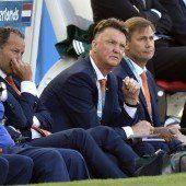 Van Gaal ist ein sitzender Coach