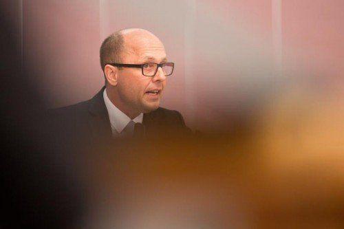 SP-Klubobmann Michael Ritsch fordert die Umsetzung der Steuerreform bereits ab 1. Jänner 2015.  FOTO: VN/STEURER