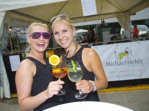 Stadtfest Bregenz Janina und Stefanie Feature