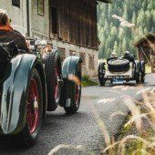 Arlberg Classic Rally bringt historische Boliden in Fahrt