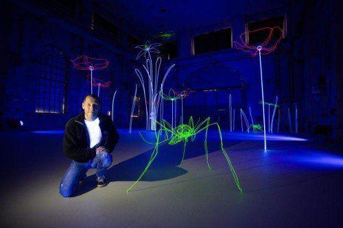 Stefan Waibel im Kunstraum Dornbirn