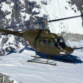Hubschrauberabsturz in Tirol: ein Todesopfer