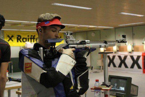 Thomas Mathis belegte beim Weltcup in Slowenien den 17. Rang im KK-Liegendbewerb. Foto: schwämmle