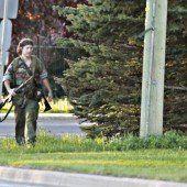 Amokläufer in Kanada gefasst