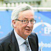 Faymann und Kurz pochen auf Juncker