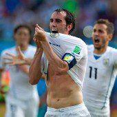 Arrivederci Italia – Uruguay siegt im Skandalspiel mit 1:0