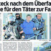 33.730 Euro Beute bei Überfall auf Raiba