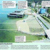 Leerer Pipeline-Strand