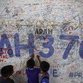 Rätsel um Flug MH370 noch immer ungelöst