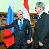 Putin kommt nach Österreich