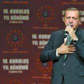Nervosität vor Besuch von Erdogan in Wien