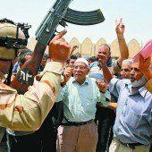 Eine Million Iraker ist auf der Flucht vor Islamisten