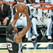 San Antonio mit hohem Sieg bei Miami Heat