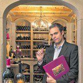Südtiroler Weine verköstigen