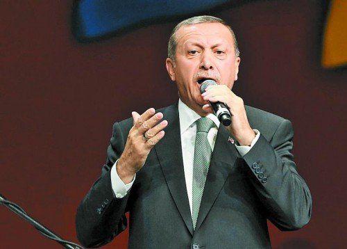 Will im August zum türkischen Staatspräsidenten gewählt werden: Premierminister Recep Tayyip Erdogan. Foto: Reuters